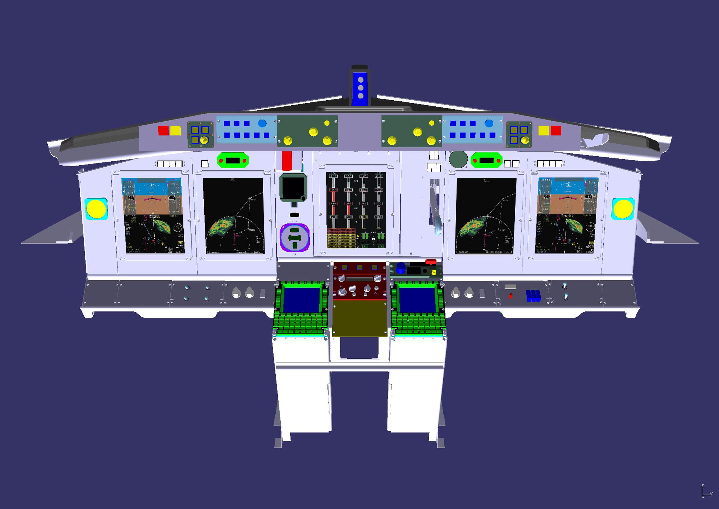 Proposed Upgraded US/NATO AWACS flight deckK65668